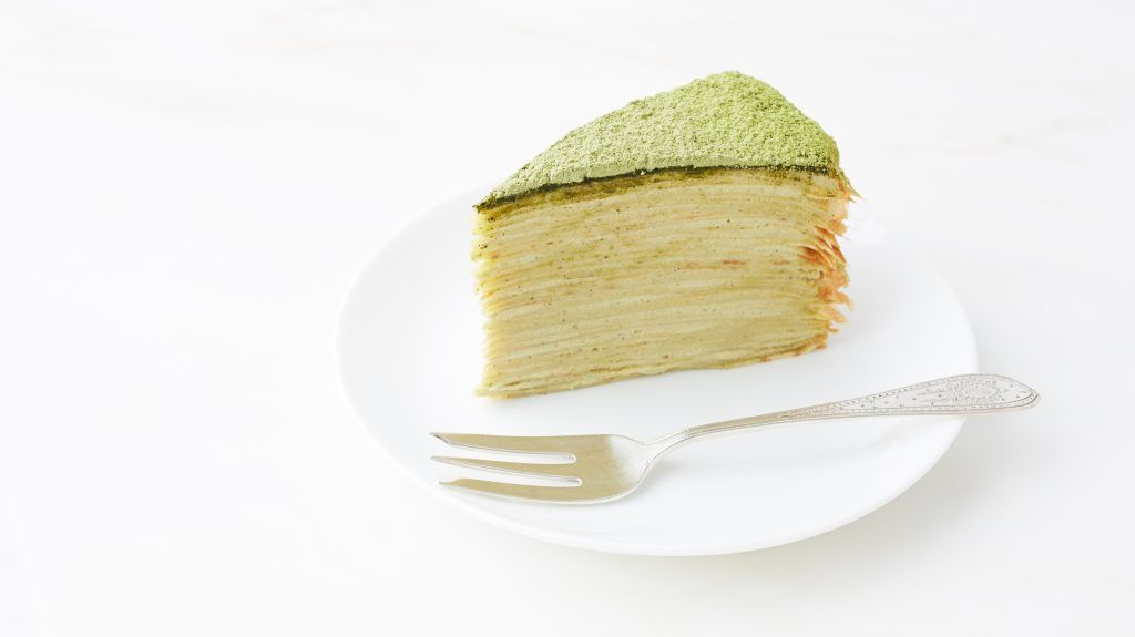 Green tea crepe cake recipe in 2020 with images green