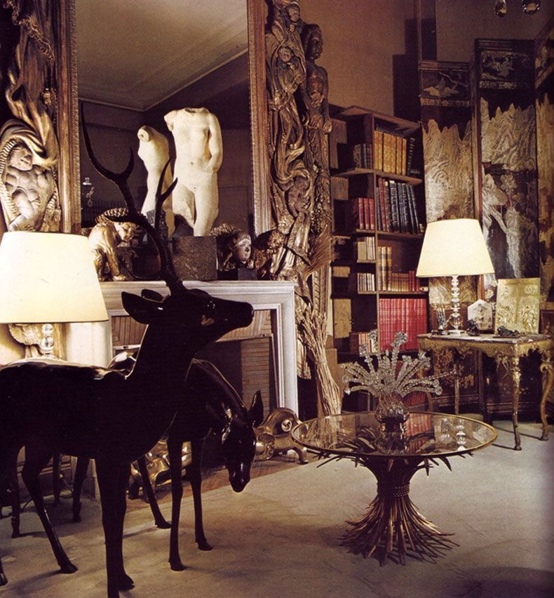 Coco Chanel's house from Architectural Digest 1977