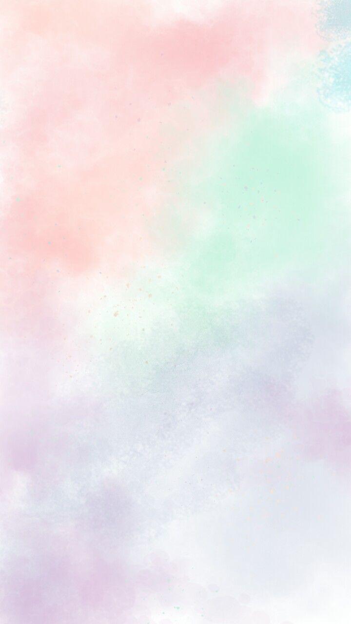 Wallpaper Pastel Pastelwallpaper Watercolor Made By Lowrainny Fondos De Pantalla Liso Fondos De Colores Fondos De Pantalla Verde