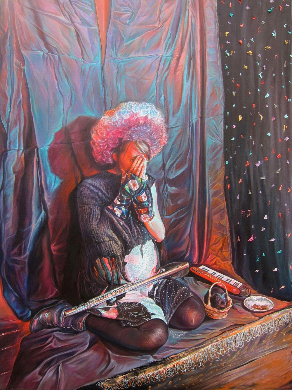 Axel Pahlavi oil on canvas 2012 80 x 60 cm www