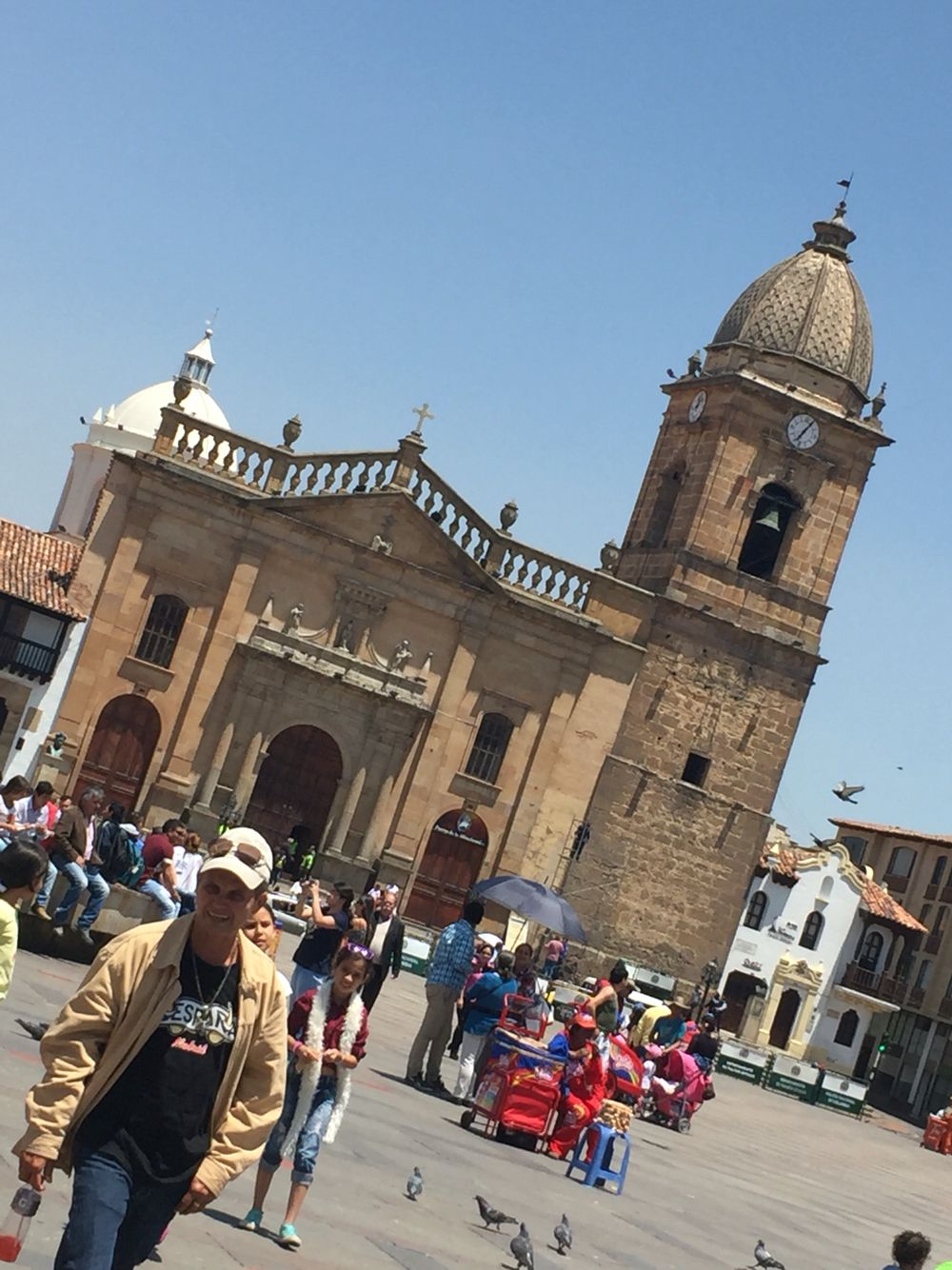Plaza de Bolívar Tunja