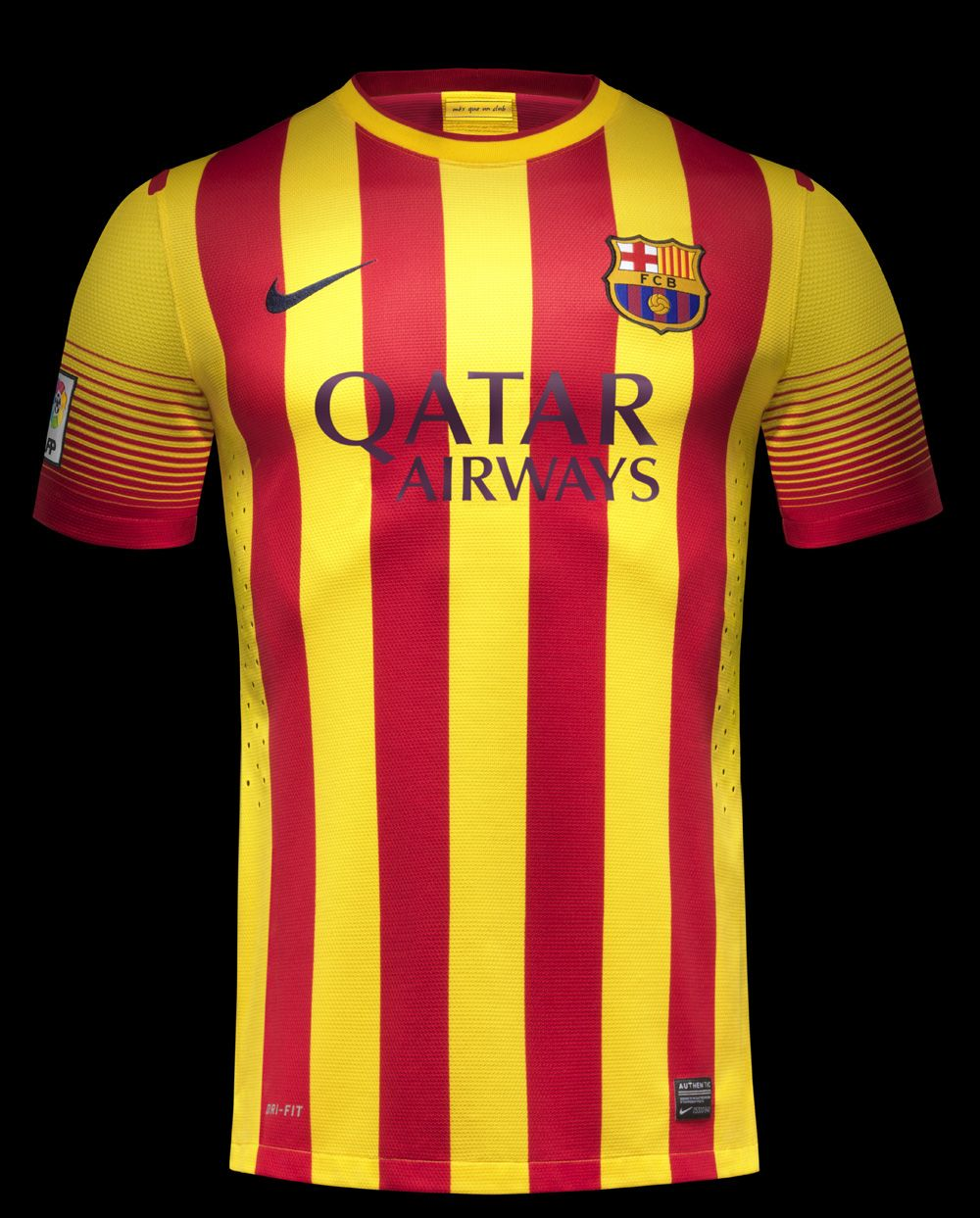 df73d6e5a54 Barcelona FC 2013-14 Away & Home Team Kit by Nike | Sports Jerseys ...