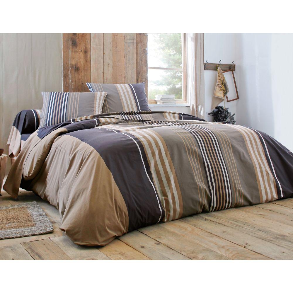linge de lit interiors Linge de lit Détroit Colombine® coton #deco #home #interior  linge de lit interiors