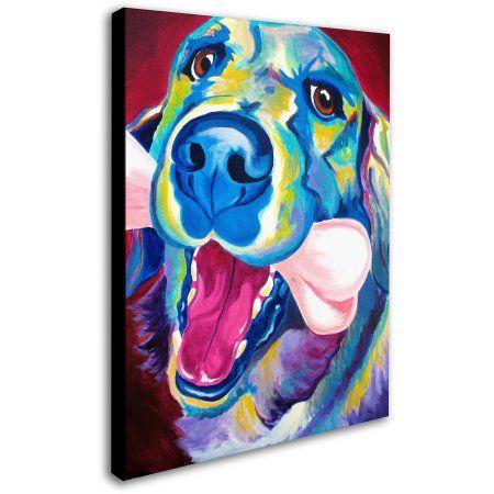 Trademark Fine Art My Favorite Bone Reboot Canvas Art by DawgArt, Size: 18 x 24, Multicolor