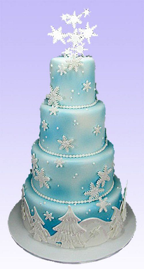 winter wonderland wedding cake pictures winter wedding cake cakes 27573