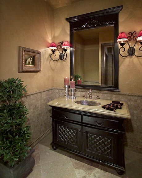1000+ images about Welcoming Powder Rooms & Small Bathrooms on ...