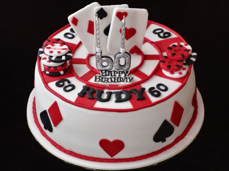 Gambling Cake Awesome Cakes Pinterest Cake Birthday cakes