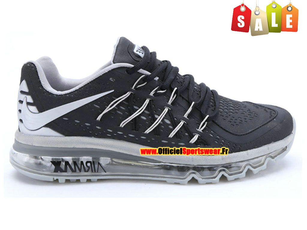 buy online 4aed3 76bcc discount code for nike air max 2015 chaussure de nike sportswear pas cher  pour homme noir
