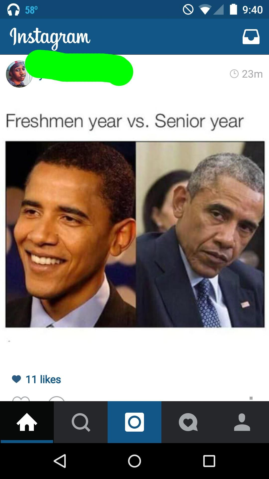 Freshmen Vs Seniors Meme