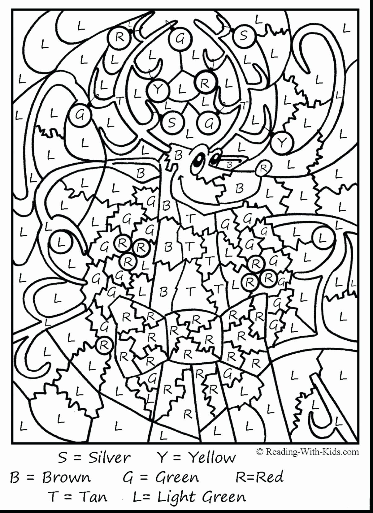 Coloring Activities For Grade 4 Unique Math Coloring