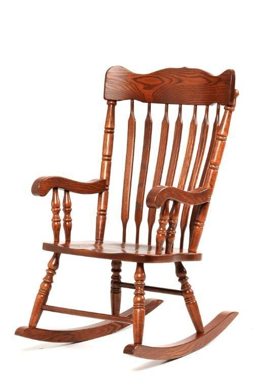 Pleasing Amish Grandfathers Rocking Chair Amish Furniture In 2019 Machost Co Dining Chair Design Ideas Machostcouk