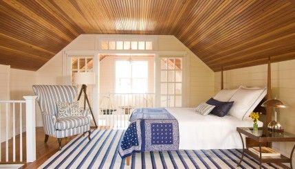 Fresh American Attic Bedroom