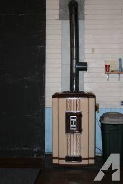 1950 Siegler Vintage Oil Burning Furnace Vintage Bottle Opener Wall Furnace
