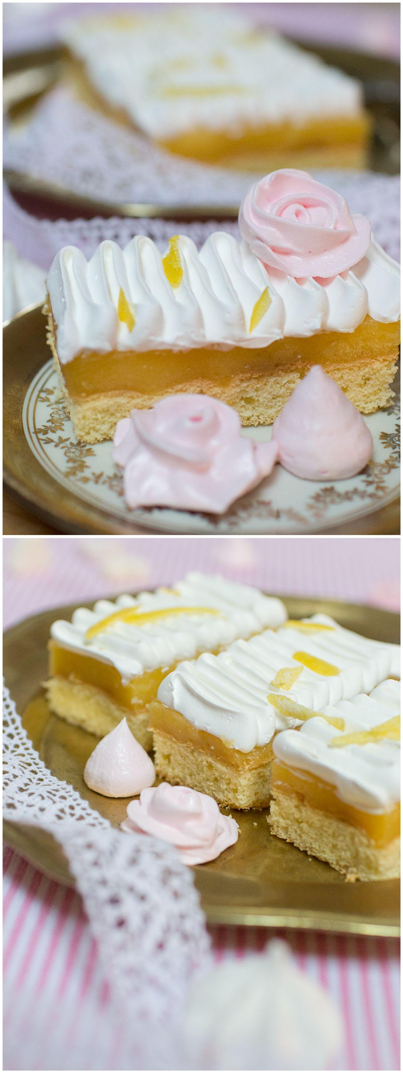 Frau Zuckerfee Lemon curd cakeRezept fr Zitronenkuchen mit Baiser  Torten  Kuchen in 2019