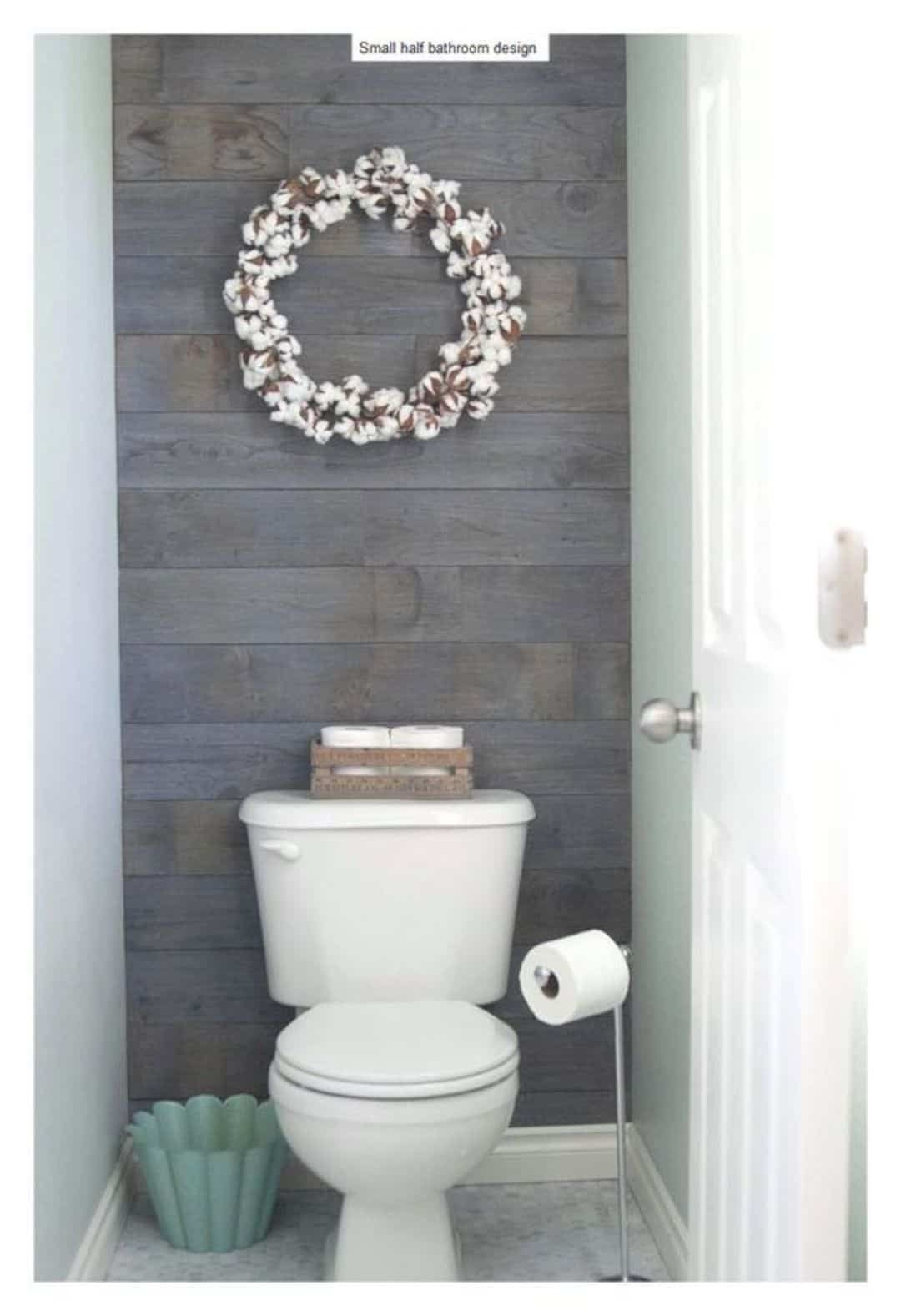 17 Awesome Small Bathroom Decorating Ideas Half Bathroom Decor