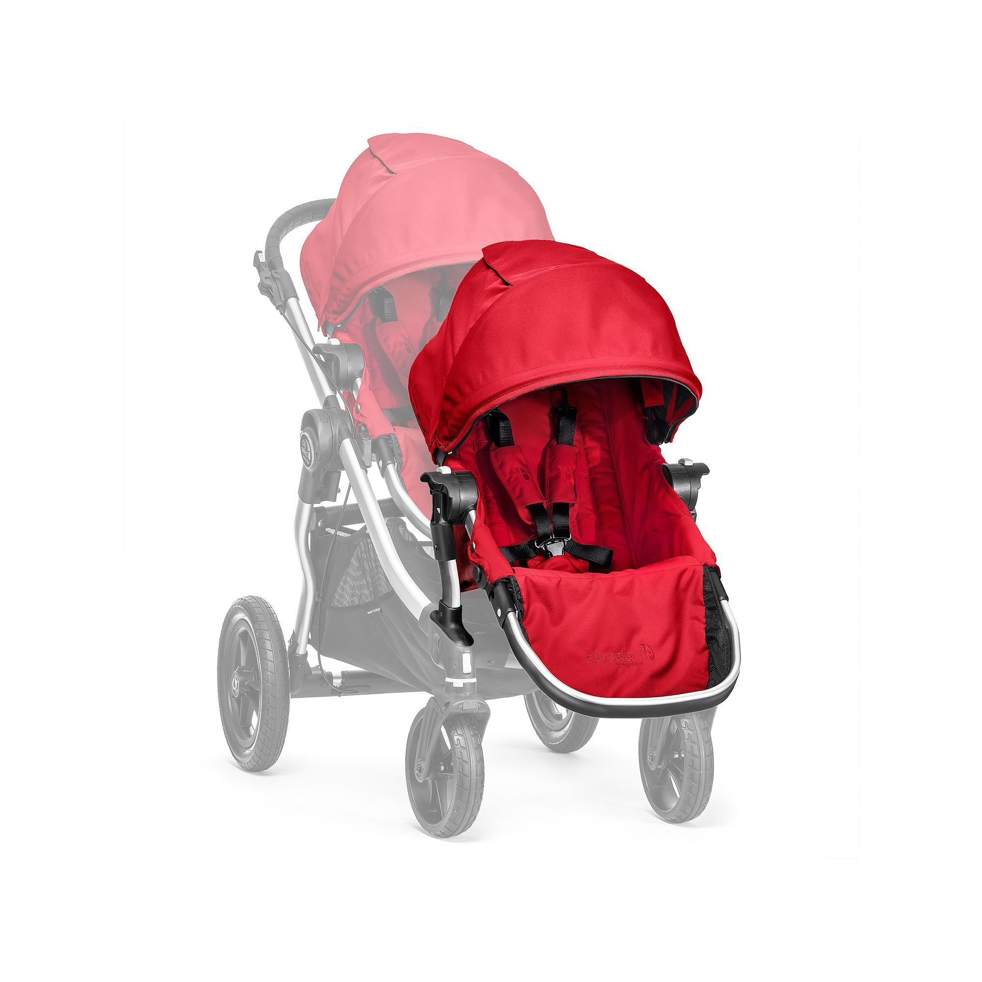 Baby Jogger City Select Second Seat Red