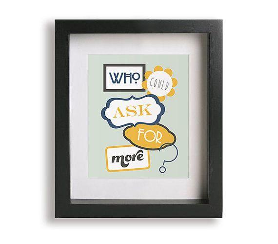 When I M 64 Beatles Music Lyric Art Print Home Decor Wall Decor Wedding Gift Gift Idea Song Lyrics Music Ly Music Lyrics Art Lyric Art Beatles Music