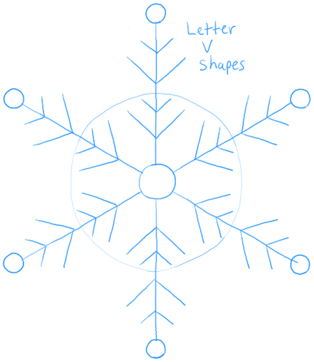 How to draw snowflake with easy drawing lesson how to draw step by step drawing tutorials