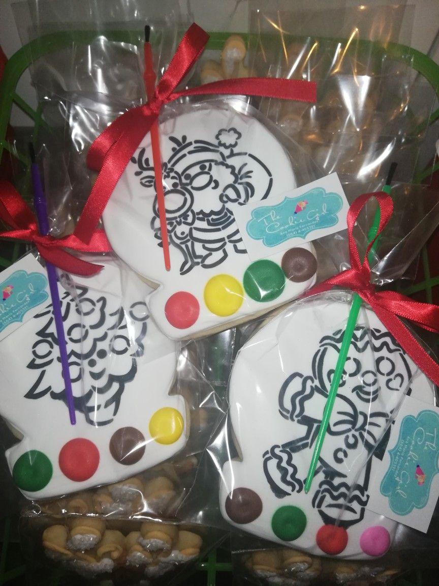 Estencils De The Cookie Countest Pintar Con Niños Galletas Navideñas Navideño