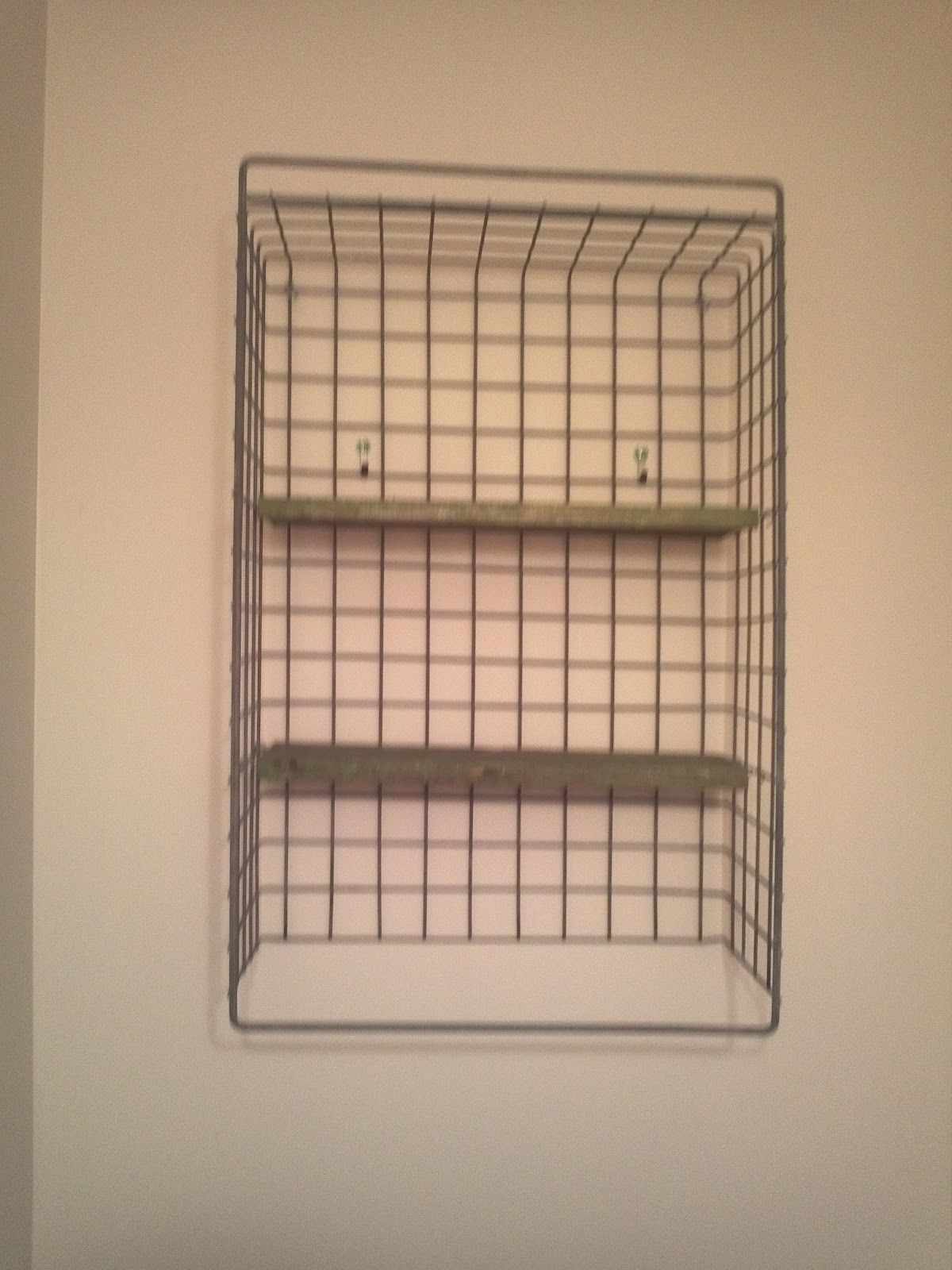 how to hang wire basket on wall Google Search