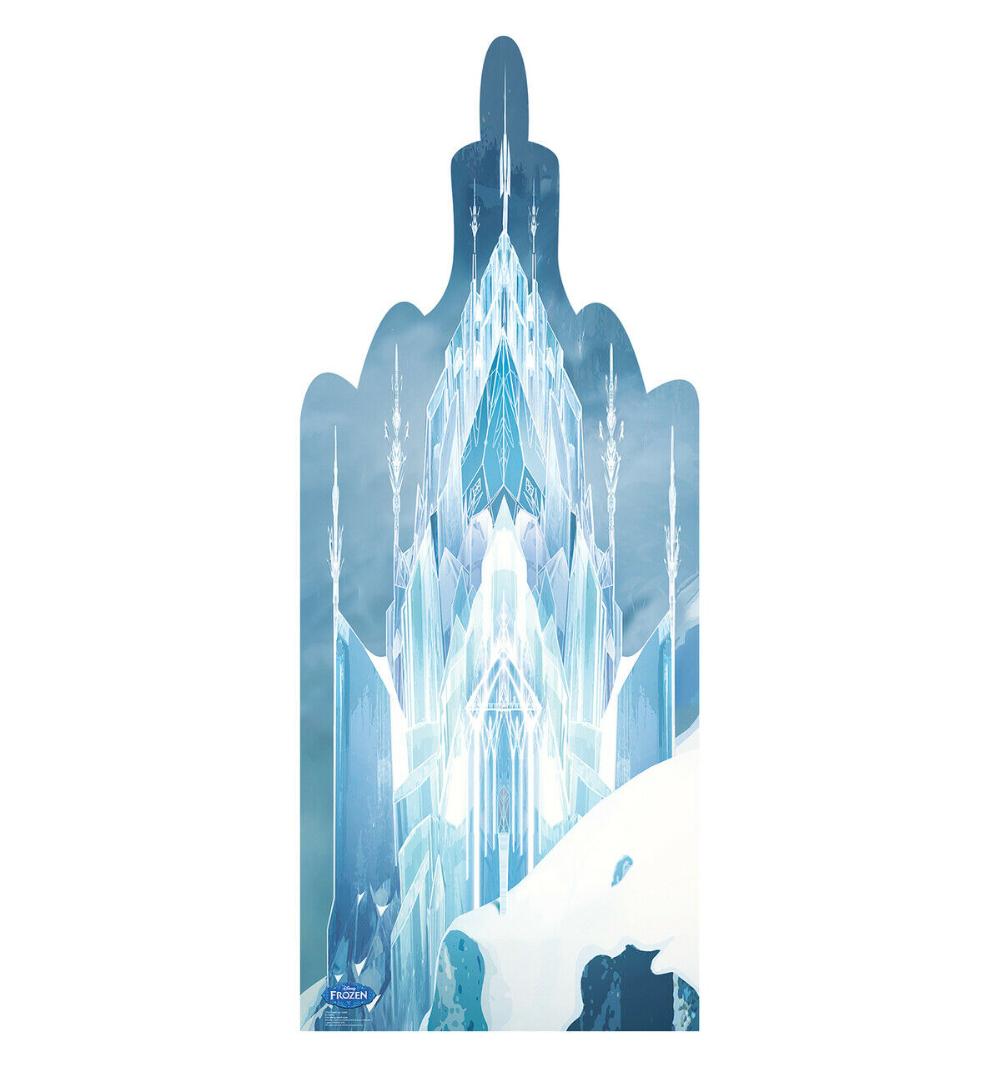 Frozen Ice Castle Disney's Frozen Lifesize Cardboard