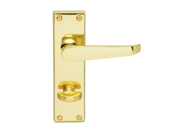 The Carlisle Brass Cbv30wc Contract Victorian Lever Bathroom Lock Is Part Of The Contract Range Of Door Handles In A High Qu Door Handles Carlisle Brass Handle