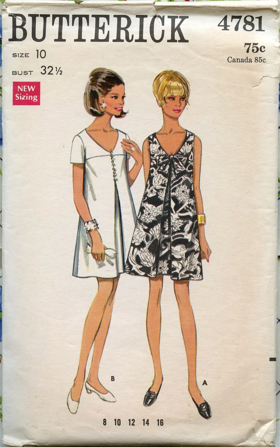 s butterick vintage sewing pattern mod misses semi fitted wore this in lime to my first job interview in 1968 and got the job