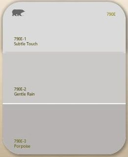 Behr Gentle Rain Soft Grey As The Neutral Color For Living Room Dining