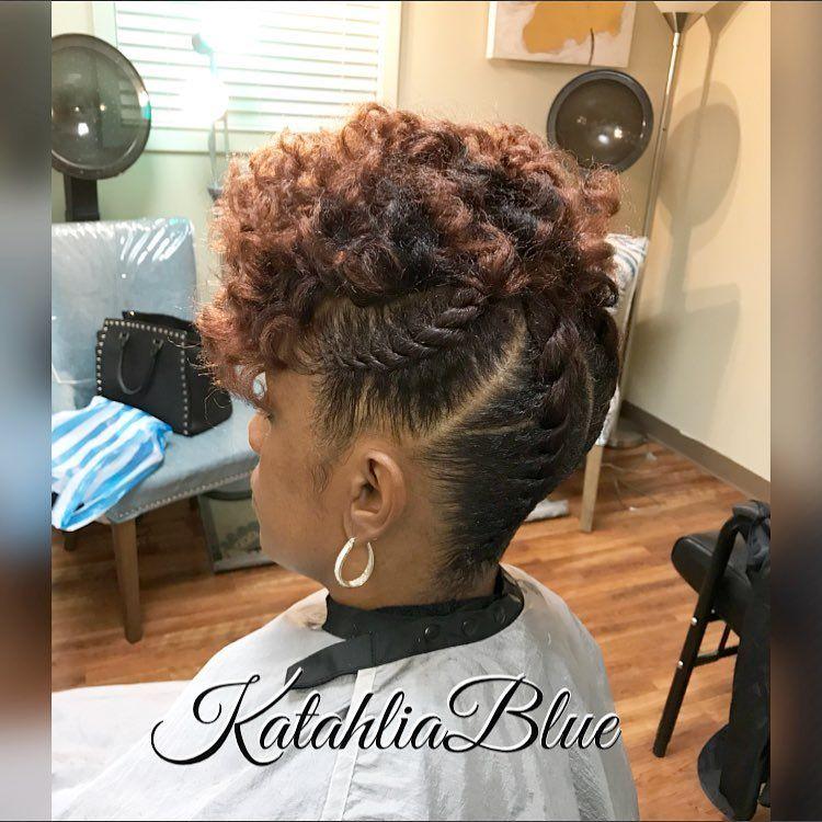 Flat Twist Updo On Natural Hair Natural Hair Twists Flat Twist