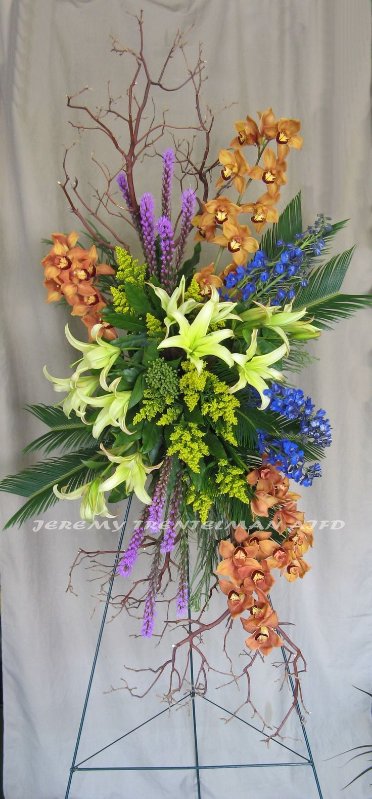 Jeremy Trentelman AIFD Funeral flower arrangements