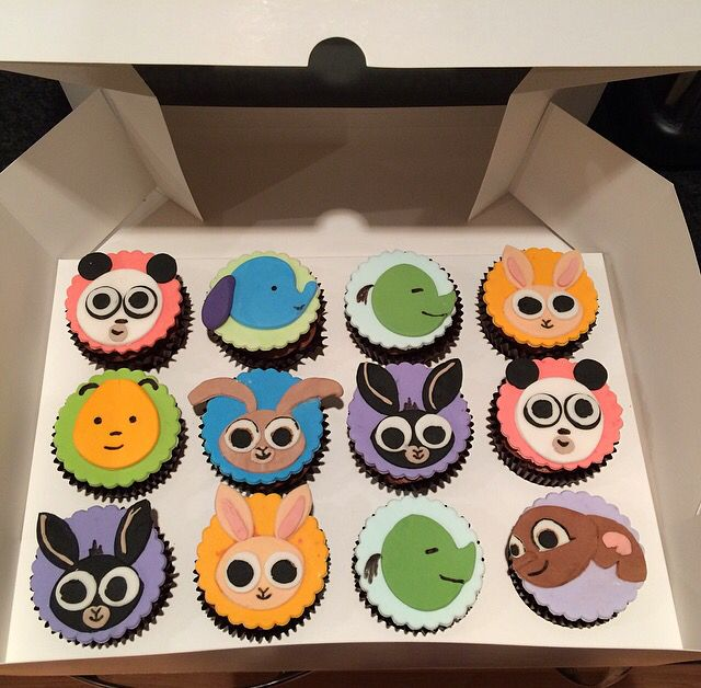 Bing Bunny cupcakes httpswwwfacebookcomAPieceOfCakeEmily