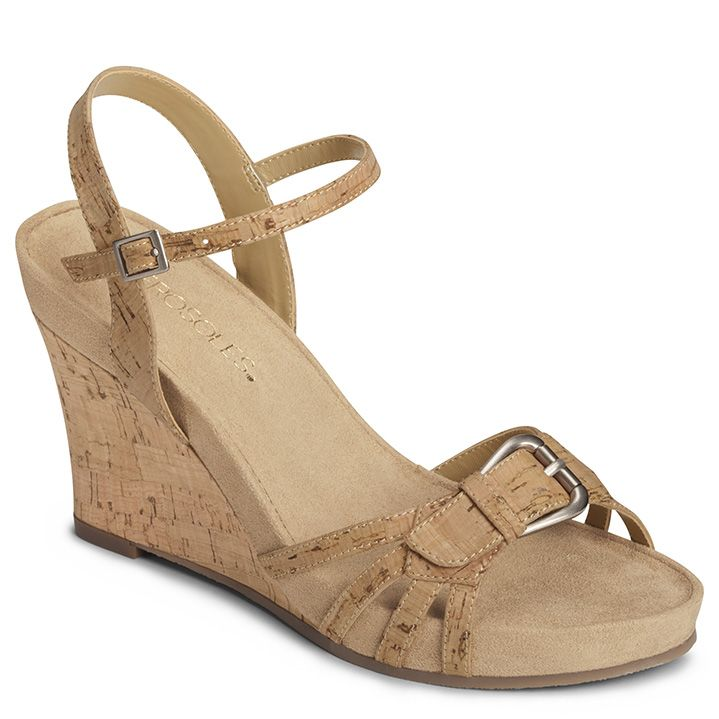 Plush Around Wedge Sandal | Women's SALE | Aerosoles · Sandales  HabilléesSandales Pour FemmesChaussures ...