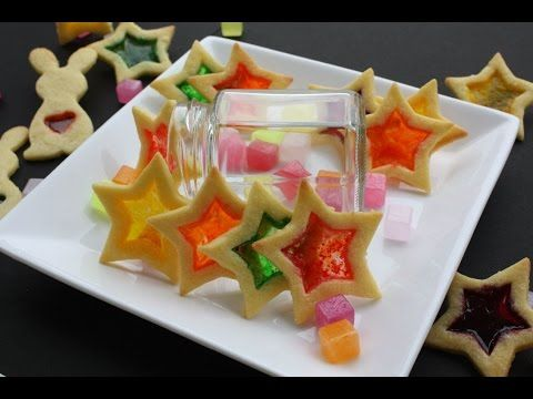 BBC Food Recipes Stained glass window biscuits - YouTube
