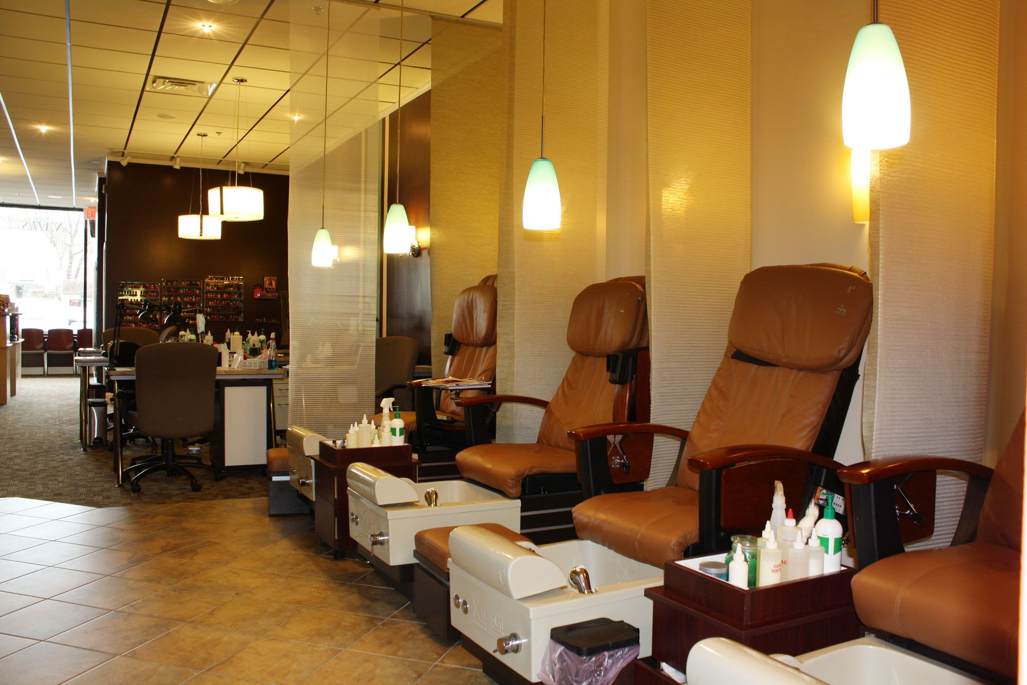 Nail salon chairs care needs only quality nail products for Nail salon furniture suppliers