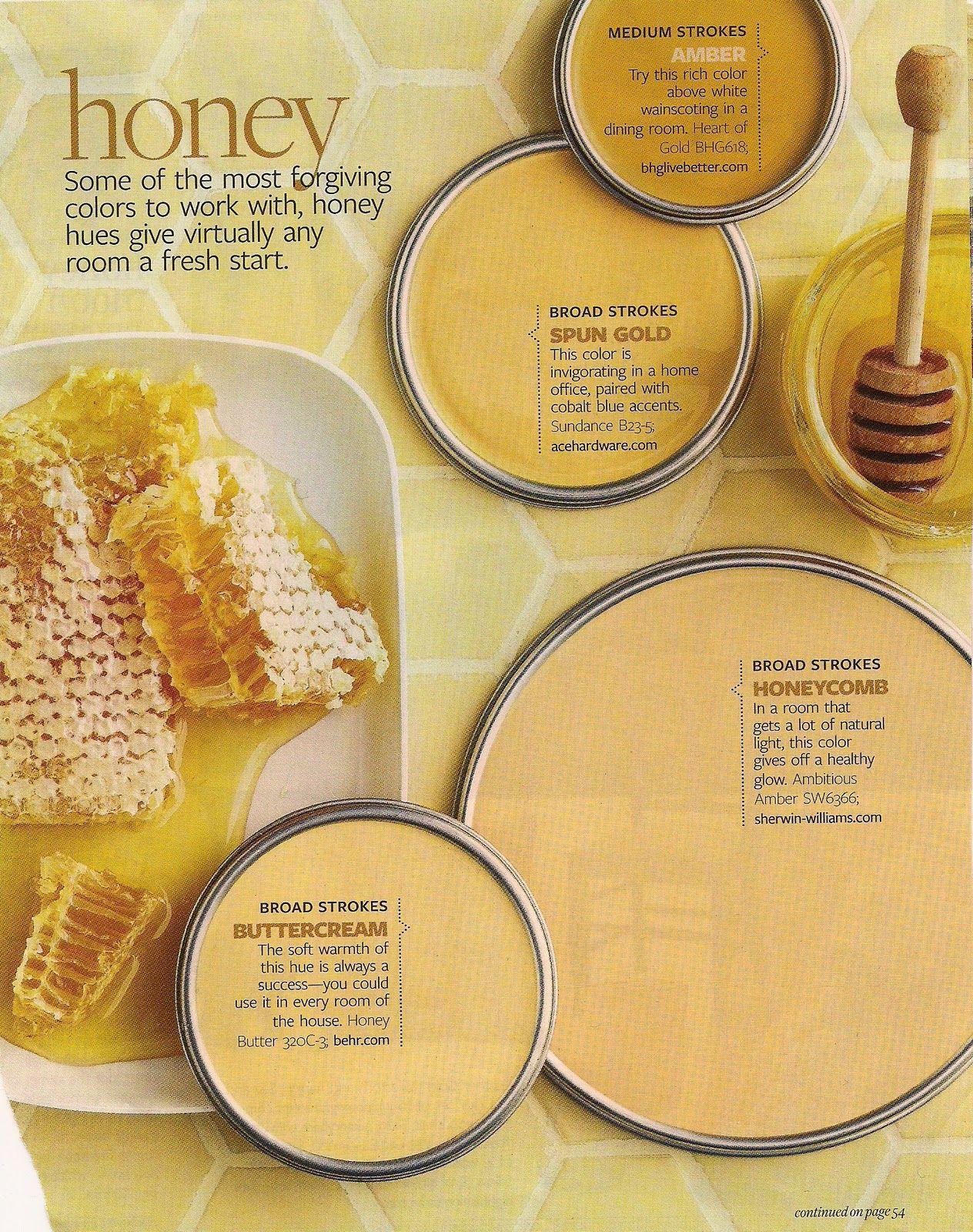 honey tones | Color My World | Pinterest | Honey, House and Paint ideas