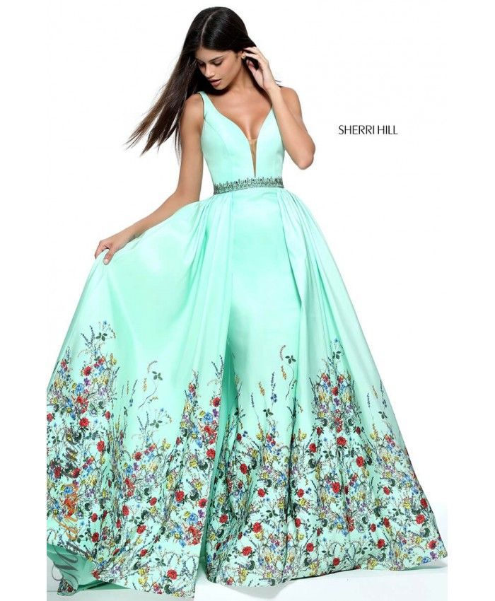 Sherri Hill 51232. Dress PromHomecoming DressesHomecoming QueenFloral Print  ...