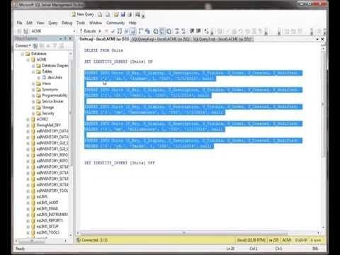SQL Server FAST TRACK for Novices - Tables Education Online