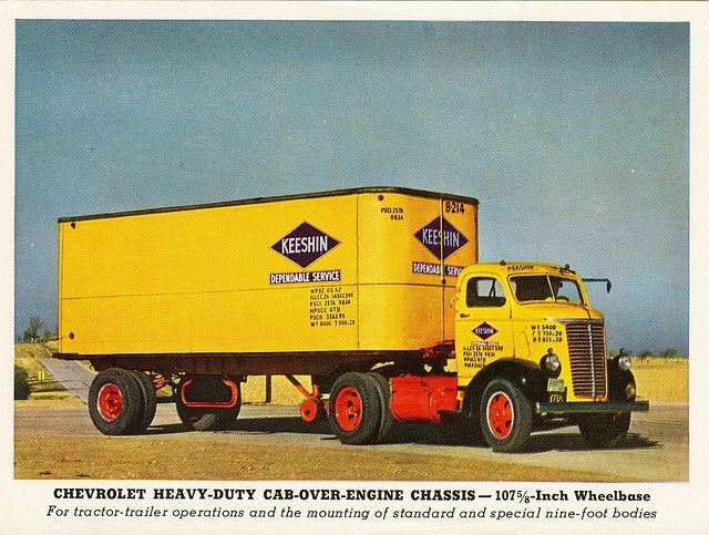1940 Chevrolet C O E Chassis Ahl Hartoy 1 64 Scale Truck