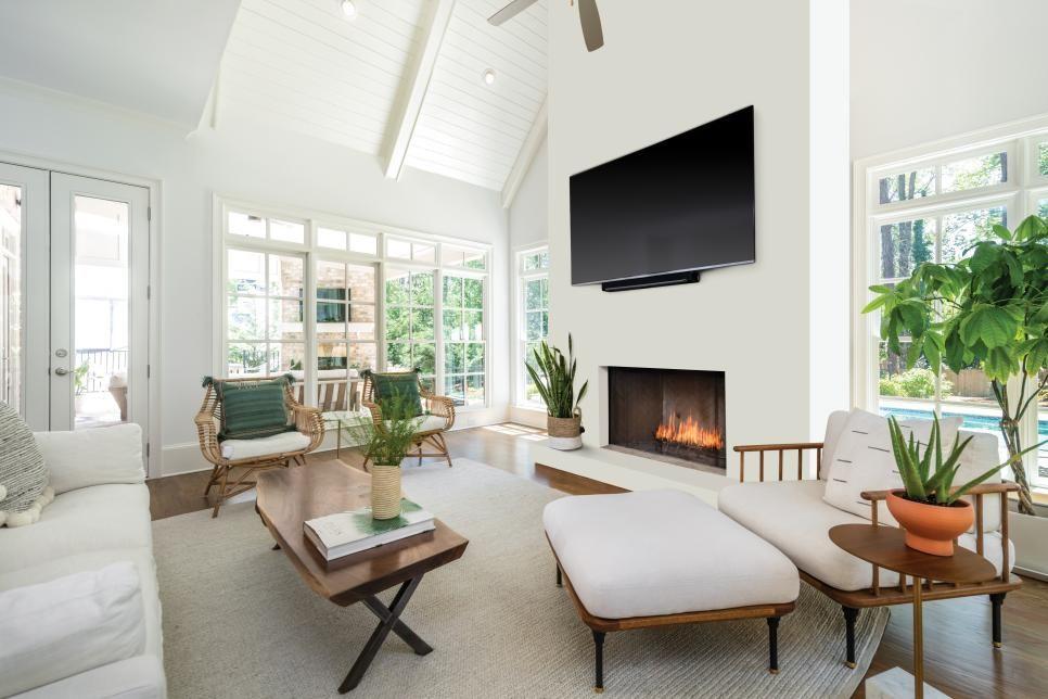 35 Living Room Looks We Re Loving Now Hgtv Family Friendly Living Room Living Room Seating Living Room Makeover