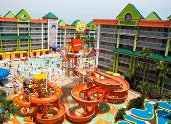 The Nickelodeon Suites Resort In Lake Buena Vista Orlando Florida Has An Olympic Size Pool Waterslides And A Kids Play Area Would Love It