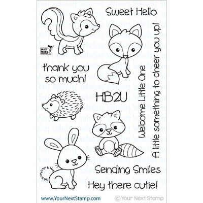 """Your Next Stamp Clear Stamps 4""""X6""""-Woodland Cuties"""