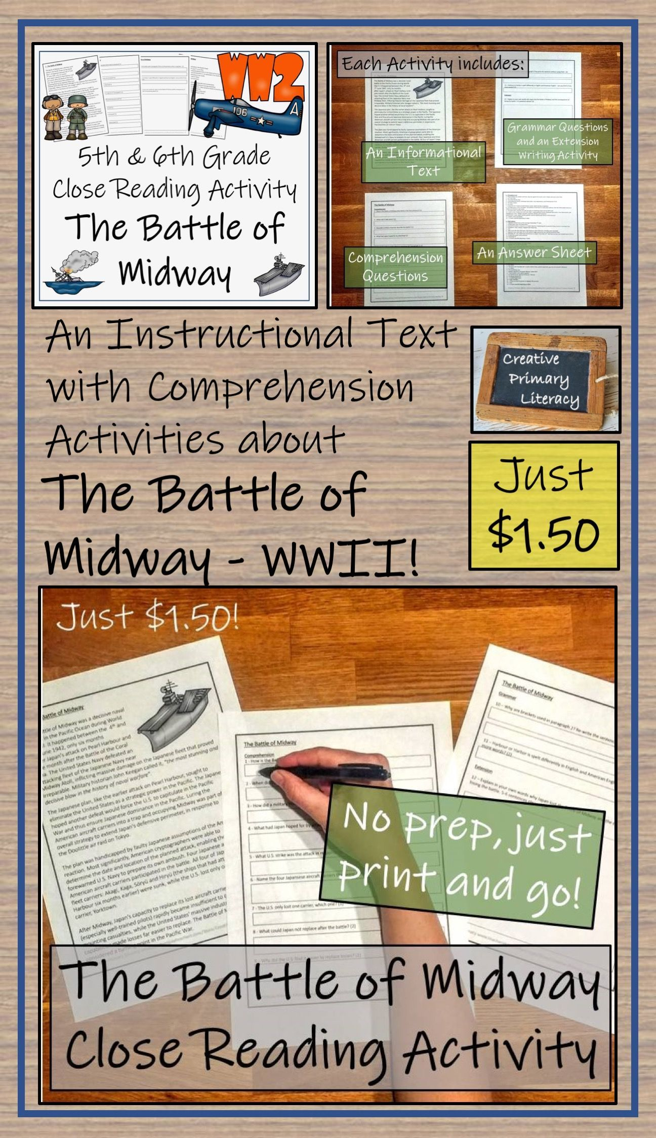 An Instructional Text Or Close Reading Activity That