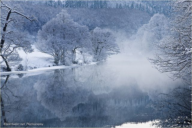 winter in wales | Winter Wales (River Dee) | Flickr - Photo Sharing!