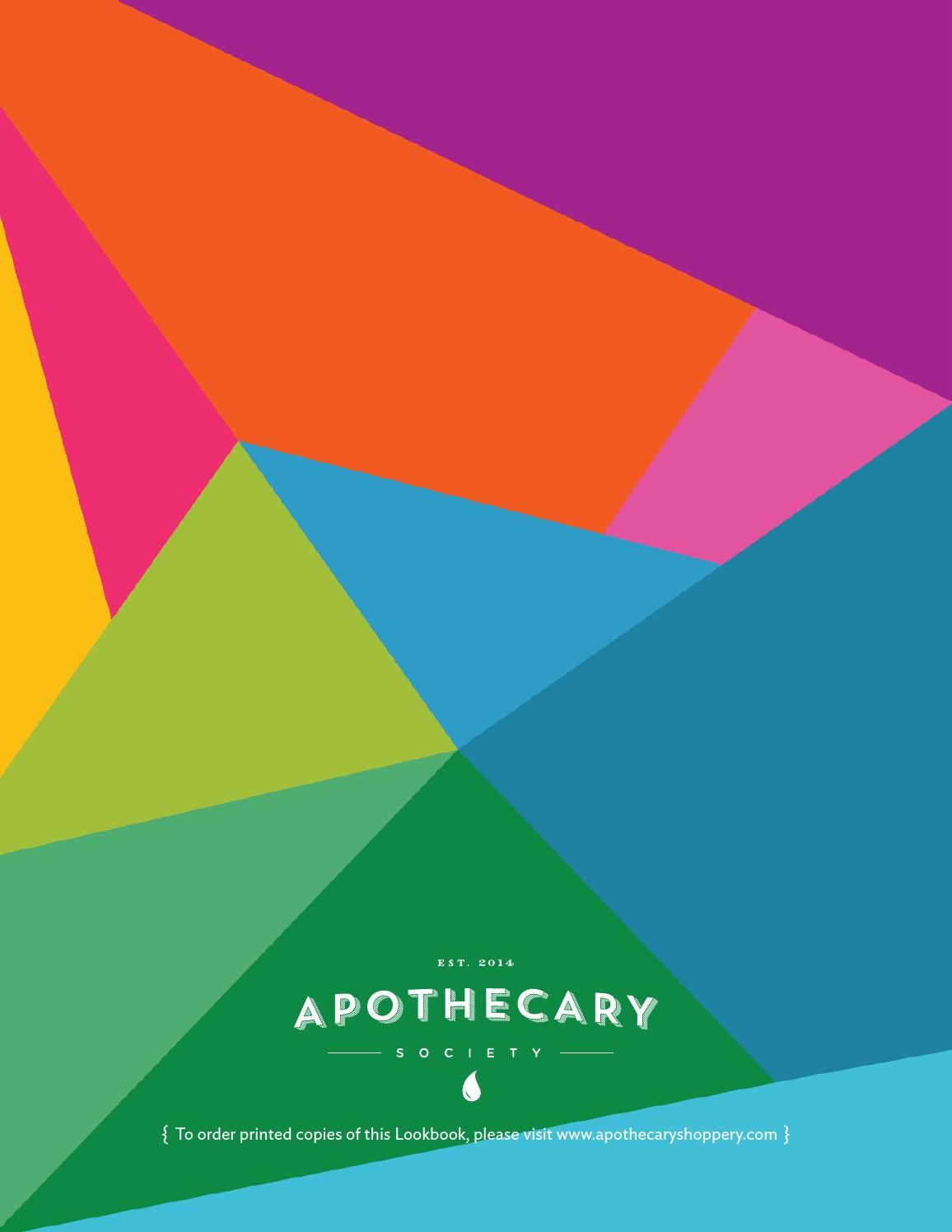 ISSUU - Lookbook, by Apothecary Society by Apothecary Society