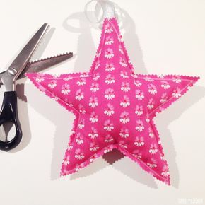 Photo of Fast star with cut and sewing instructions