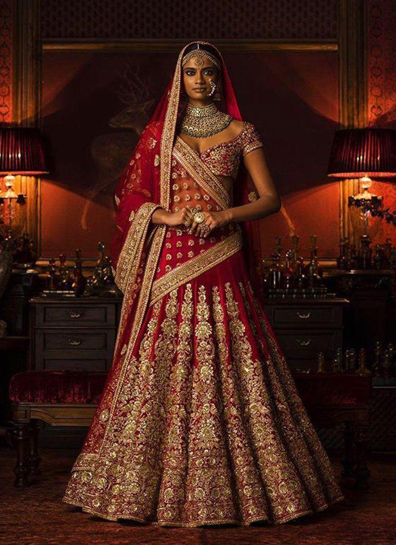 Red Bridal Lehenga  Bridal Wear  Bridal Outfits  Lehenga Choli
