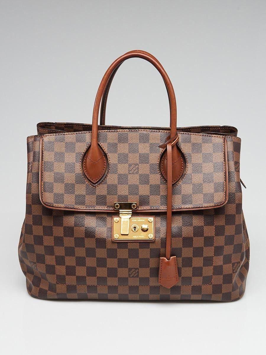 570ddba3c441 Louis Vuitton Damier Canvas Ascot Bag - Yoogi s Closet  Louisvuittonhandbags