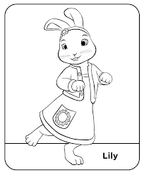Cbeebies Printables Free Google Search Kleurplaten Peter Rabbit Konijn