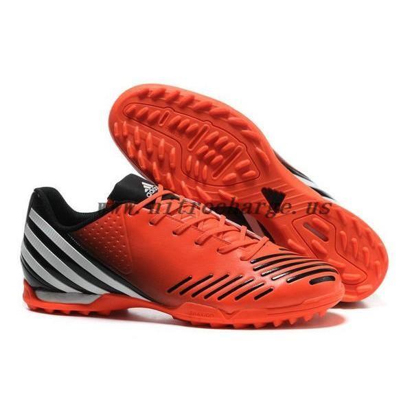 6e3b323b49d New Adidas Predator LZ Lethal Zones TRX TF Futsal Soccer Boots Orange black Color  Cleats
