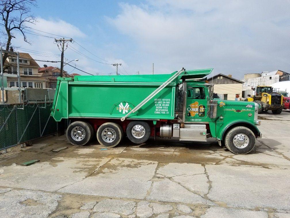 Corbett's yard Dump trucks, Truck and trailer, Trucks